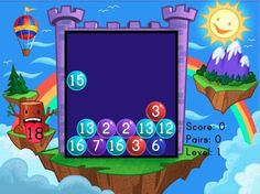 Our favorite game! Bubble Buster: Addition to 20 - Interactive Math Game