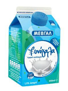 Ξινόγαλα ΜΕΒΓΑΛ  Το Ξυνόγαλα ΜΕΒΓΑΛ είναι ένα προβιοτικό προϊόν, το μοναδικό με ειδική καλλιέργεια γιαούρτης που περιέχει το στέλεχος Bifidus, παρέχοντας πολλά και σημαντικά οφέλη στον οργανισμό: Συμβάλλει στην καλύτερη λειτουργία του πεπτικού συστήματος Ενισχύει το ανοσοποιητικό σύστημα