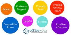 Reasons to choose Officeworx Ltd