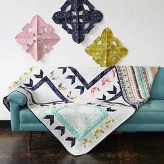 Cotton + Steel Paper Bandana Quilt Pattern