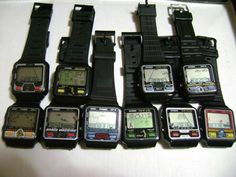 Casio 80s game watches