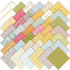 Amazon.com: Moda Noteworthy Charm Pack, Set of 42 5-inch-by-5-inch Precut Cotton Fabric Squares: Arts, Crafts & Sewing