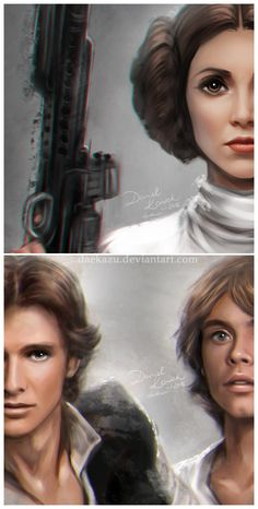 Star Wars: Una nueva esperanza por daekazu