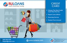 Select the best credit card online from a wide range of credit cards from various banks which suits your needs & lifestyle. Compare credit card features, offers, reward points, cashback and get the best credit card. For more details visit - https://www.ruloans.com/credit-card