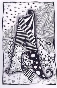 Hey, I found this really awesome Etsy listing at http://www.etsy.com/listing/101813263/zentangle-letter-a-zebra-letters-name