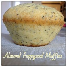 Almond Poppyseed Muffins- I JUST made these muffins but used whole wheat flour instead of regular and greek yogurt instead of butter & they are DELICIOUS!! Best muffin recipe ever!