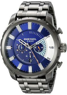 Diesel Men's DZ4358 Stronghold Analog Display Analog Quartz Grey Watch