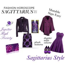 """""""Sagittarius Style"""" by expressingyourtruth on Polyvore"""