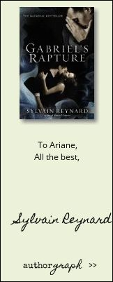 """Authorgraph from Sylvain Reynard for """"Gabriel's Rapture"""""""