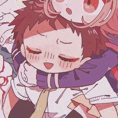 Chica Gato Neko Anime, Cute Anime Chibi, Kawaii Anime, Anime Couples Drawings, Couple Drawings, Matching Pfp, Matching Icons, Share Icon, Nagito Komaeda