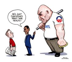 Obamacare & IRS. Not sure if funny or scary....