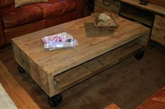 Vintage Coffee Table in Different Era