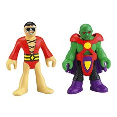 Imaginext® Justice League Martian Manhunter & Plastic Man - Shop Imaginext Kids' Toys | Fisher-Price