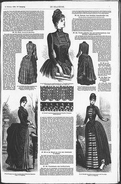Gracieuse. Geïllustreerde Aglaja, 1886, aflevering 1, pagina 7