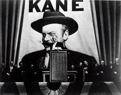 "Orson Welles in ""Citizen Kane"", 1941"