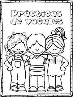 Práctica de vocales ~ Educación Preescolar, la revista