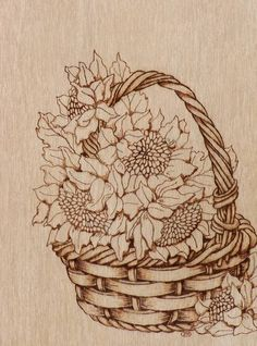Page not found - Pyrography Online Barn Wood Crafts, Wood Burning Crafts, Wood Burning Patterns, Wood Burning Art, Wooden Crafts, Sunflower Room, Pyrography Patterns, Flower Outline, Wood Carving