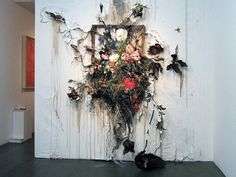 Juxtapoz Magazine - Update: Decaying Fine Art by Valerie Hegarty Contemporary Artists, Modern Art, Decay Art, Growth And Decay, Traditional Frames, A Level Art, Art Plastique, Art Sketchbook, Installation Art