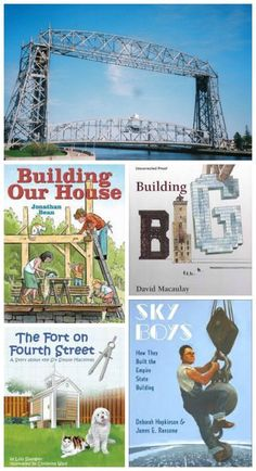 Love these books, websites and hands-on activities that teach kids about engineering! #stem #readaloud #kidsactivities