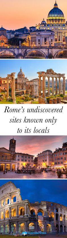 Rome's undiscovered sites known only to its locals.