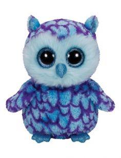 Oscar Owl 6 Inch Beanie Boo I REALLY WANT THIS!