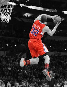 Blake Griffin; #NBA #basketball #slamdunk