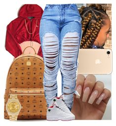 """""""Untitled #1455"""" by msixo ❤ liked on Polyvore featuring NIKE, MCM and Rolex"""