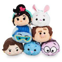 Product Image of Ralph Breaks the Internet Mini ''Tsum Tsum'' Collection # 1 Disney Toys, Disney Pixar, Walt Disney, Disney Jr, Disney Crafts, Art Projects For Adults, Crafts For Kids, Pusheen, Stuffed Animals