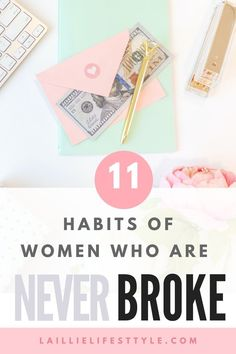 11 Habits of Women Who Are Never Broke. Learn how to save money fast when on a low income. Or, learn how to save money on the side when you're in college like I am. These tips on how to save money and never be broke can be implemented for a couple of months, or for a year, or even for longer. Learn how to never be broke again. Save Money On Groceries, Ways To Save Money, How To Be Smart, Being Broke, Important Things In Life, Personal Finance, Never, Frugal, Saving Money