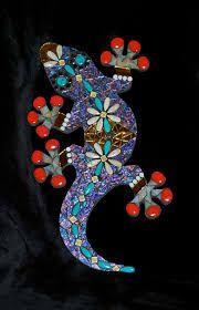Resultado de imagem para mosaic tile backsplash with salamander diy