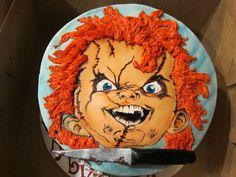 Chucky Birthday Cake cakepins.com