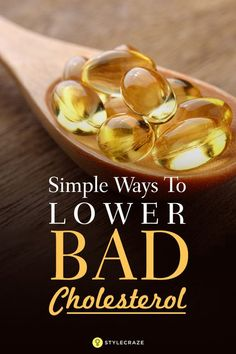 Bad cholesterol is a pain, isn't it? Wondering how to reduce bad cholesterol naturally? Check out these 5 simple ways to lower bad cholesterol. Try these tips to stay healthy and happy Low Cholesterol Diet Plan, Lower Cholesterol Naturally, Ways To Lower Cholesterol, What Causes High Cholesterol, Cholesterol Levels, Supplements To Lower Cholesterol, How To Lower Triglycerides, Low Cholesterol Recipes Dinner, Good Health Tips