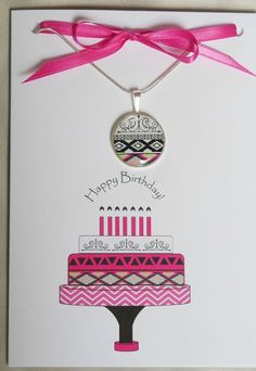 Happy Birthday Greeting Card, Birthday Wishes, Birthday Cards, Matching Necklaces, Aztec, Bee, Jewelry Making, Etsy Shop, Make It Yourself