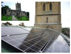 England Gets Its 1st Zero-Carbon Church #solar #england #green #cleanenergy