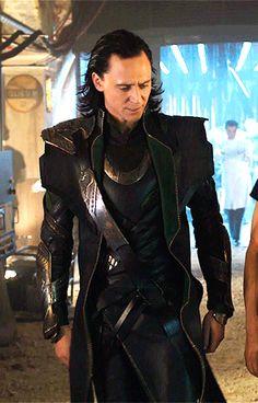 Just Tom Hiddleston — Sexy walk
