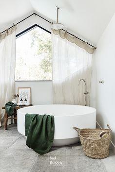 Bathroom Renos, Laundry In Bathroom, Bathroom Inspiration, Home Decor Inspiration, Bathroom Interior Design, My Dream Home, Decoration, New Homes, House Design