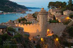 Tossa de Mar Province of Girona. Catalonia Spain by EdMoskalenko. @go4fotos