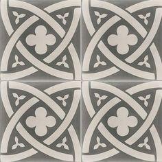 Carreaux de ciment - Les motifs - Carreau COF 10 - Couleurs & Matières