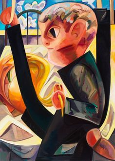 'Horsey Situation' by Dana Schutz Love Painting, Painting & Drawing, Dana Schutz, Art Criticism, New York Art, Portrait Art, Portraits, Contemporary Paintings, Art Inspo