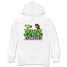 Mens Plants Vs Zombies Logo Sweatshirt White @ niftywarehouse.com