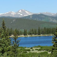 Echo Lake, Mt. Evans, CO - A childhood favorite. Happy memories camping here.