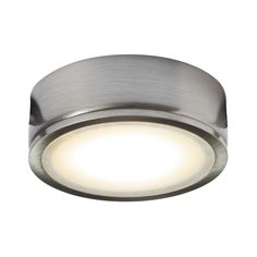 Xenon puck light bulbs httpyungchienfo pinterest puck usa dals lighting 45w 120v led metal finish under cabinet puck light silver aluminum aloadofball Gallery