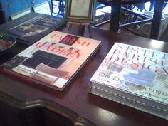 Classic design books for sale.
