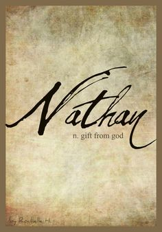 Baby Boy Name: Nathan. Meaning: Gift From God. w… - Baby Boy Names Baby Girl Names