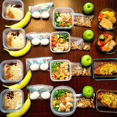 People Food Prep Princess, allow us to take a whirl through your picture-perfect meal prep world. The fitness and nutrition coachs motto: Let your food work for youIts not hard, just takes practice! Preparation plus dedication equals happily ever after. Best Meal Prep, Weekly Meal Prep, Healthy Weekly Meal Plan, 21 Day Fix Meal Plan, Diet Recipes, Healthy Recipes, Advocare Lunch Recipes, Meal Prep Recipes, Yummy Recipes