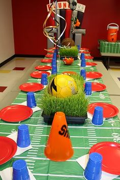 Excellent End Of The Season Party Table Top Decor For The Kids