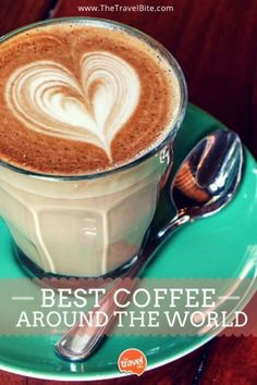Love coffee?  Here's a list of the best and most beautiful coffee shops around the world.
