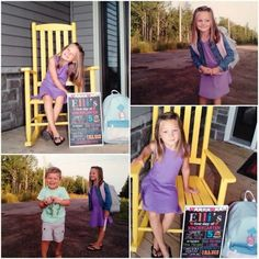 Absolutely love when I can share your photos! Good luck Elli on her first day! Love how her poster turned out!  #firstdayofschool #chalkboardart #chalkboardprint #bigmoment #kindergarten #etsychalkboard