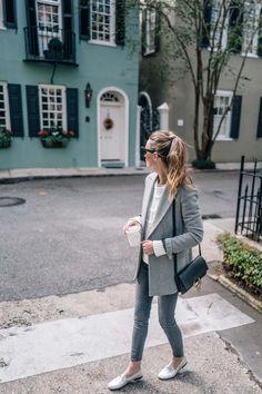 Fall fashion -- How to style an oversized blazer via Jess Ann Kirby