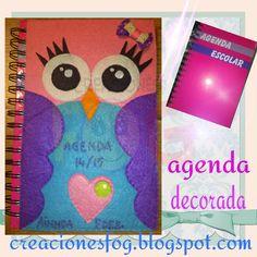 creaciones FOG: Agenda búho